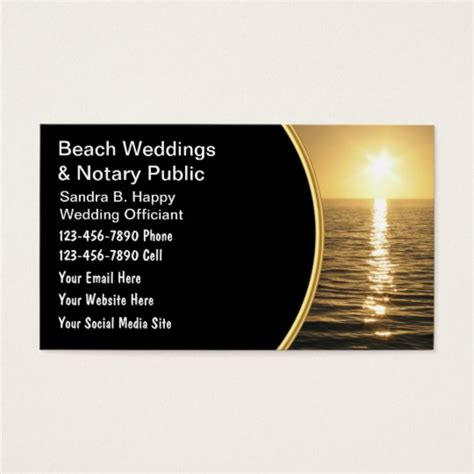 Wedding Card Zazzle by Wedding Officiant Business Cards Wedding Officiant