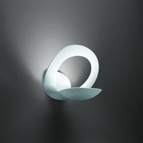 White Wall Lights Artemide Pirce Parete 1240010a White Wall Light