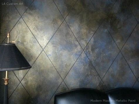 diamond pattern for walls and furniture   Modern Masters