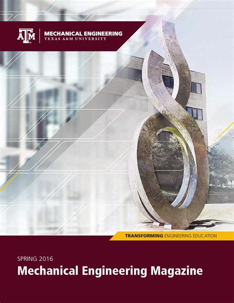 pattern allowances mechanical engineering 2016 mechanical engineering magazine by texas a m