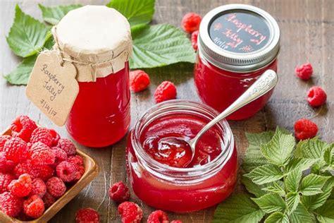 Truly Jelly truly easy raspberry jelly no pectin sweet savory by