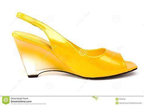 lemon wedge shoe royalty free stock photo image 9324545
