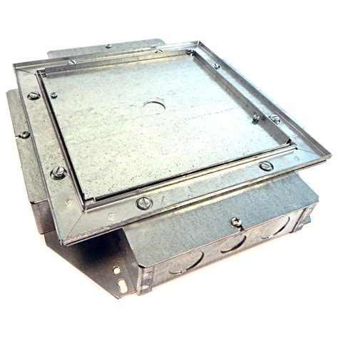 Recessed Floor Box by Betts Steel Recessed Shallow Service Floor Box