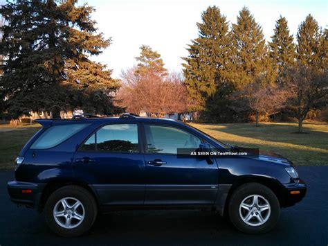 2001 lexus rx300 all wheel drive awd suv 3 0 liter 6