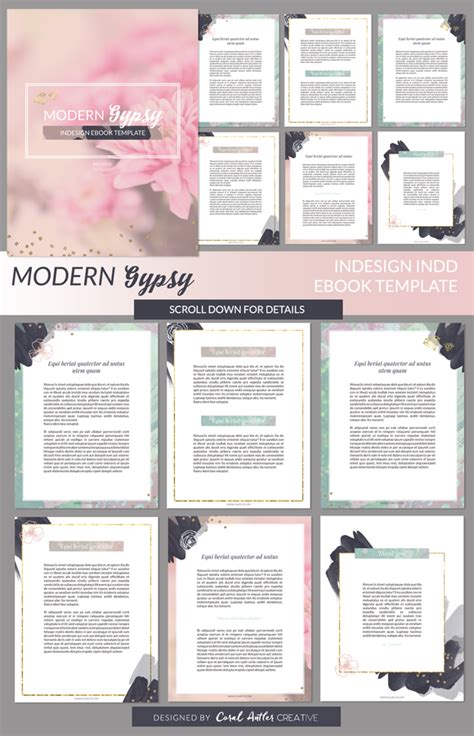 Ebook Cover Template For Bundle 187 Designtube Creative Design Content Free Ebook Templates