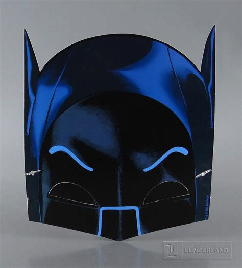 Papercraft Batman Mask - batman 1966 tv series batman paper mask 75th anniversa