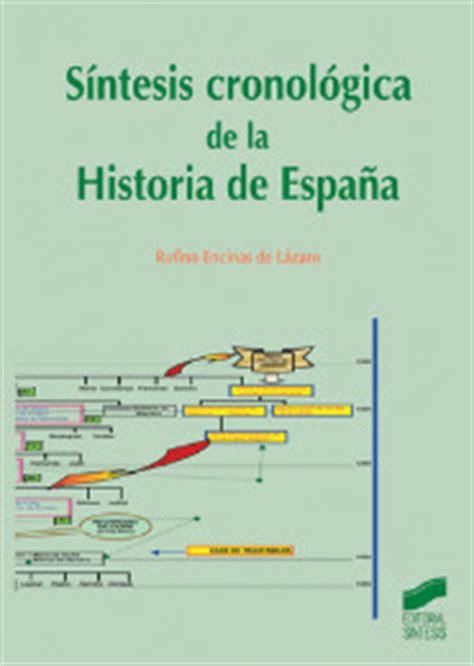 Sintesis Cronologica De La Historia De Espana Libro 1348