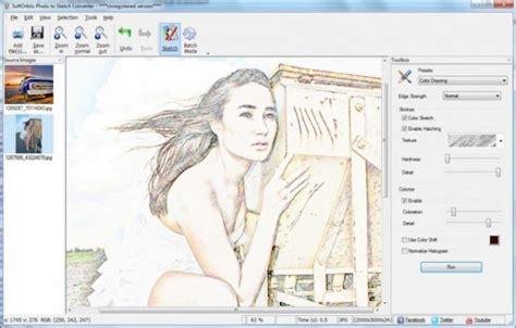 sketch program how to convert image to sketch softorbits