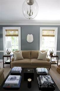grey  tan living room inspiration blue wall paints