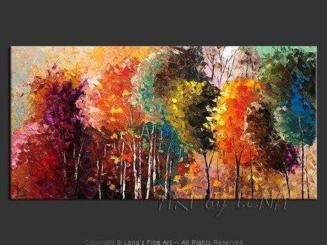 cuadros modernos acrilicos cuadro oleo o acrilico bosques modernos 48 000 en