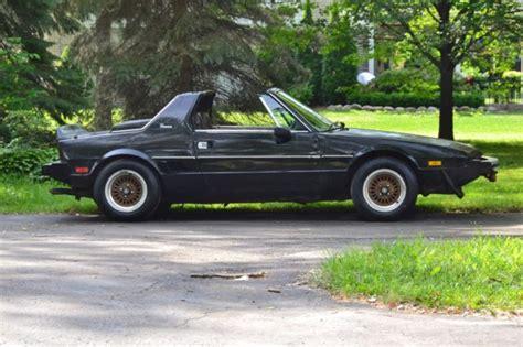 fiat car rate 1979 fiat x 1 9 classic italian mid engine sports car
