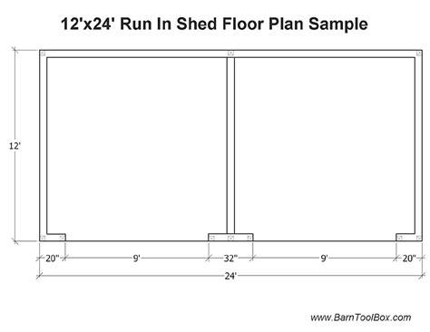 horse run  shed plans   build diy blueprints
