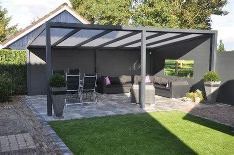 veranda ohne dach vrijstaande veranda polycarbonaat 300cm elegantwood
