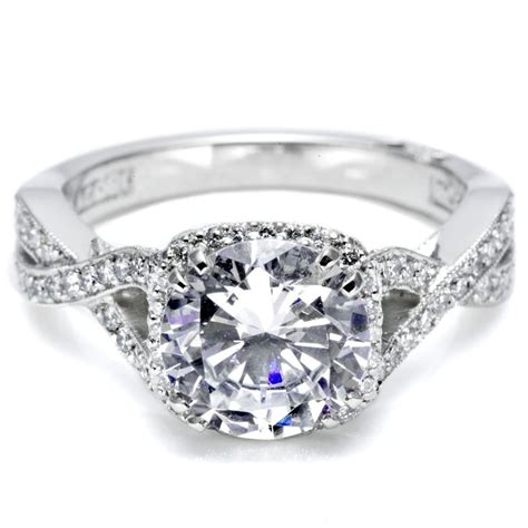 twist engagement ring jewelery