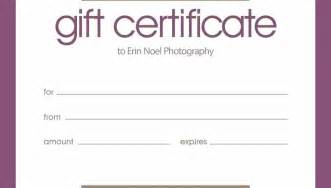 Templates For Gift Certificates Free Downloads by Birthday Gift Certificate Templates Free