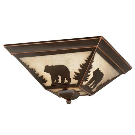 forest light fixture montana flush mount ceiling light
