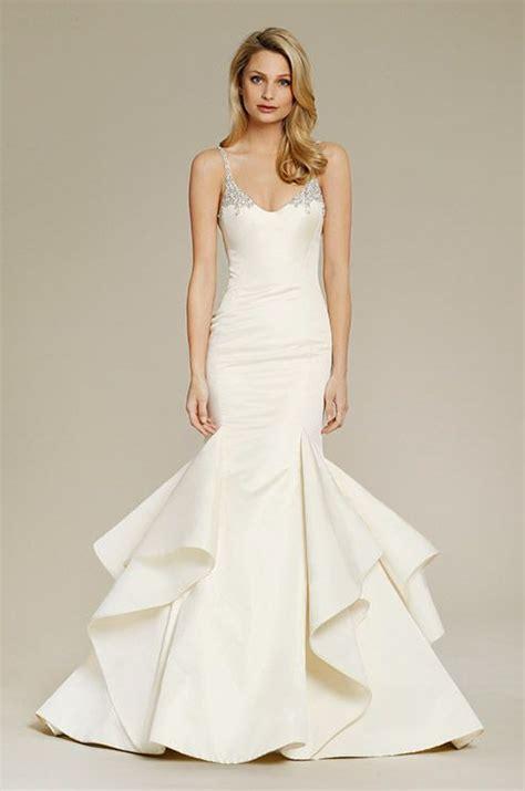 brautkleider meerjungfrau schlicht wedding trumpet and wedding dressses on