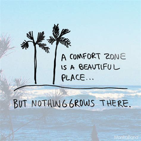 Comfort Zone Quotes by A Comfort Zone Is A Beautiful Place But Nothing Grows