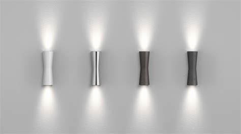 Clessidra 40 176 Wall Light Led Indoor Chrome By Flos