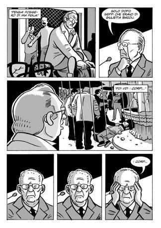 tavole fumetti la strage di piazza loggia in un fumetto