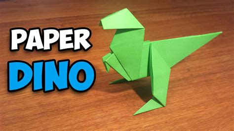 how to make an easy origami dinosaur in this tutorial i ll