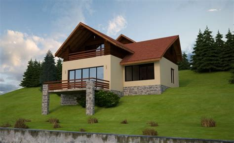 sloped house plans slope house plans functional design