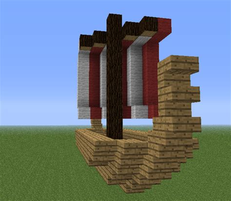 minecraft small viking boat viking building style in minecraft minecraft guides