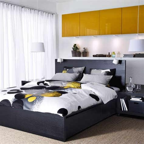 ikea besta bedroom a bedroom with a black brown malm bed best 197 storage with