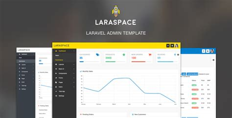 menu layout laravel laraspace laravel vuejs admin template by bytefury