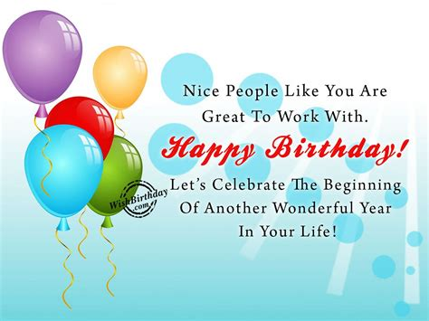 Birthday Cards For Senior Colleague Birthday Wishes For Colleague Birthday Images Pictures