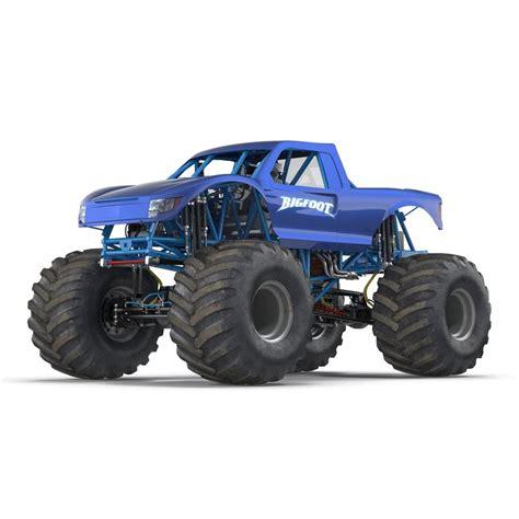 Truck Bigfoot Generic 3d Model