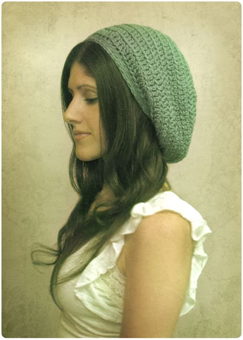 pattern crochet slouchy hat how to crochet a slouchy hat