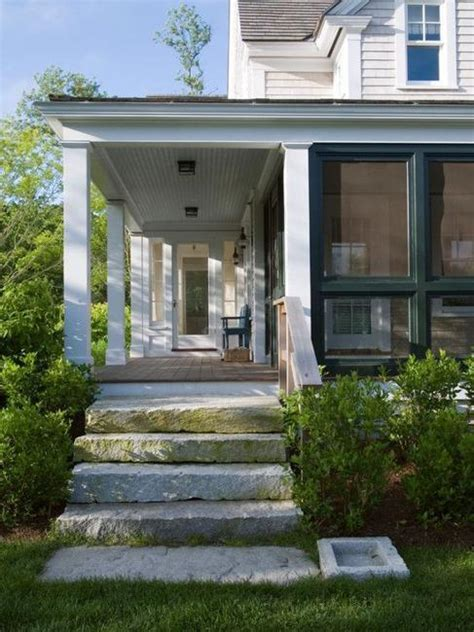 Improve Curb Appeal - entrance staircase designs to beautify homes and improve curb appeal