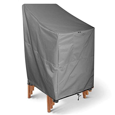 heavy duty outdoor furniture covers khomo gear titan series stackable chair cover heavy duty premium outdoor furniture