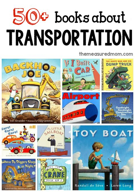 book themes for kindergarten a giant list of books for a preschool transportation theme