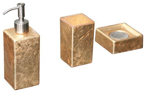 leaf bathroom accessories luxury modern bathroom set gold leaf contemporary