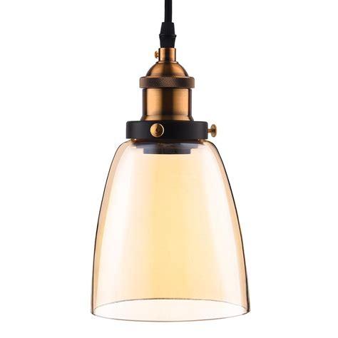 Primitive Pendant Lighting Vintage Industrial Primitive Glass Hanging Ceiling L Household Pendant Light