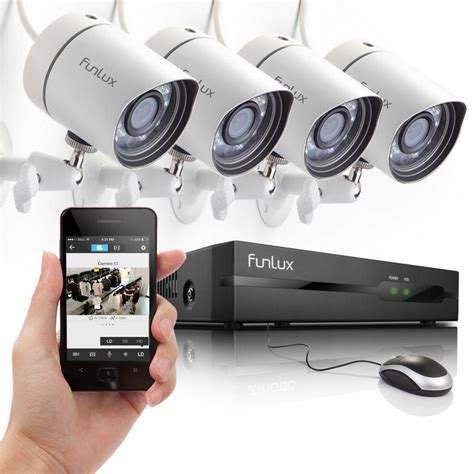 funlux 174 1280 720p hd ip network outdoor cctv home