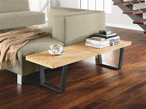 nelson style bench george nelson style platform bench vetrohome modern furniture online store