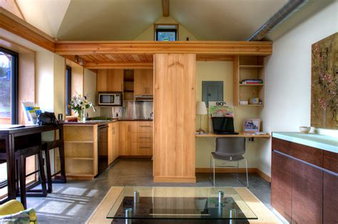 what does 300 square feet look like the mini b a small passive house joseph giietro