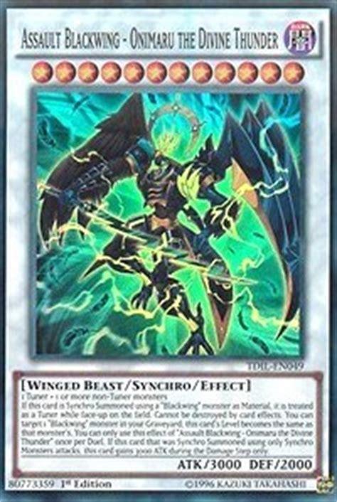 Kartu Yugioh Assault Blackwing Sohaya The Common assault blackwing onimaru the thunder the illusion yugioh gaming store