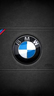 Bmw Iphone Bmw Leather Logo Iphone 5 Wallpaper 640x1136