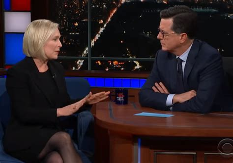 kirsten gillibrand late show report kirsten gillibrand to announce 2020 run on late