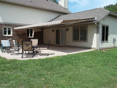 retractable awnings indianapolis patio retractable awnings traditional patio
