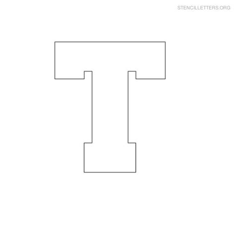 free printable letters org free printable block letter stencils stencil letters t
