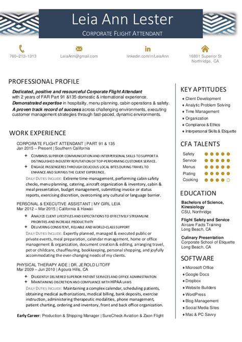 Air Canada Flight Attendant Sle Resume by Corporate Flight Attendant Cv Sle 28 Images Best Flight Attendant Resume Sales Attendant