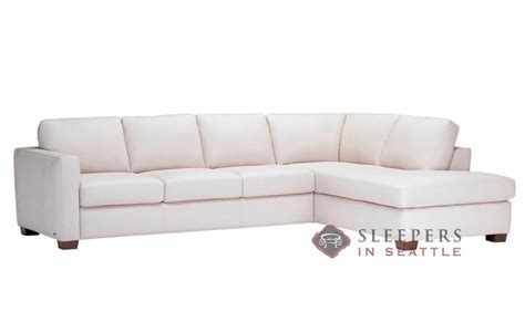 leather chaise sofa sleeper customize and personalize roya b735 chaise sectional
