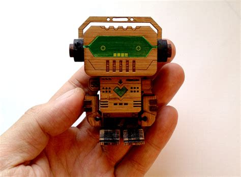 Robots Without Lasers laser cut toys for the big boys
