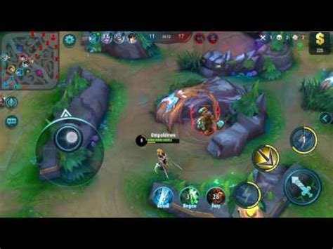 tutorial fanny mobile legend fanny best hero assasins mobile legend android ios youtube