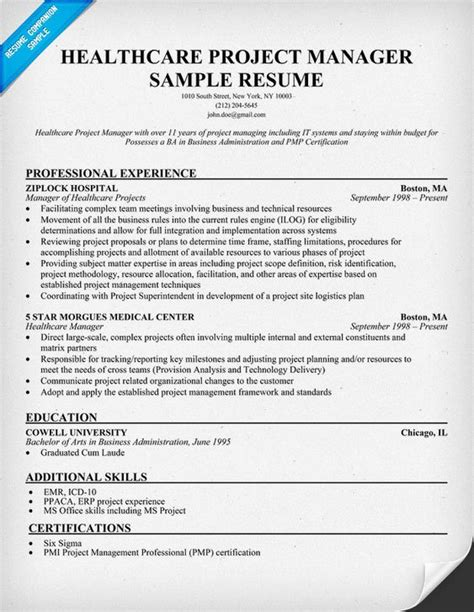 100 website project manager resume project manager resume sle it program manager resume